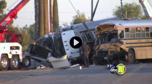 School bus, diesel tanker crash in Fresno County - abc30.com 2014-06-12 01-49-19